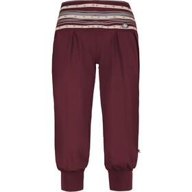 E9 Luna Naiset Lyhyet housut , punainen